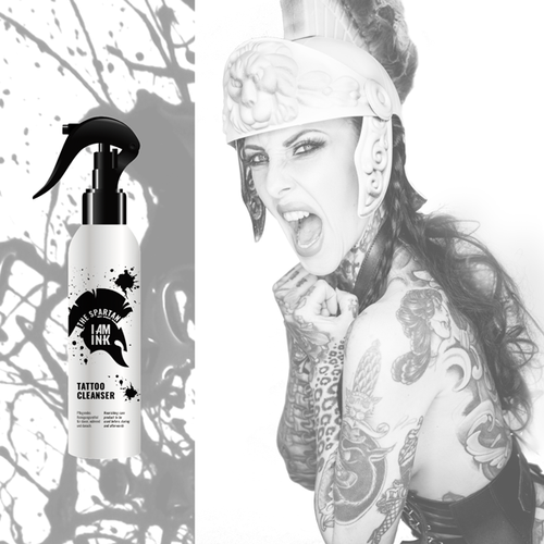 The Spartan Tattoo Cleanser, Ready To Use 250ml