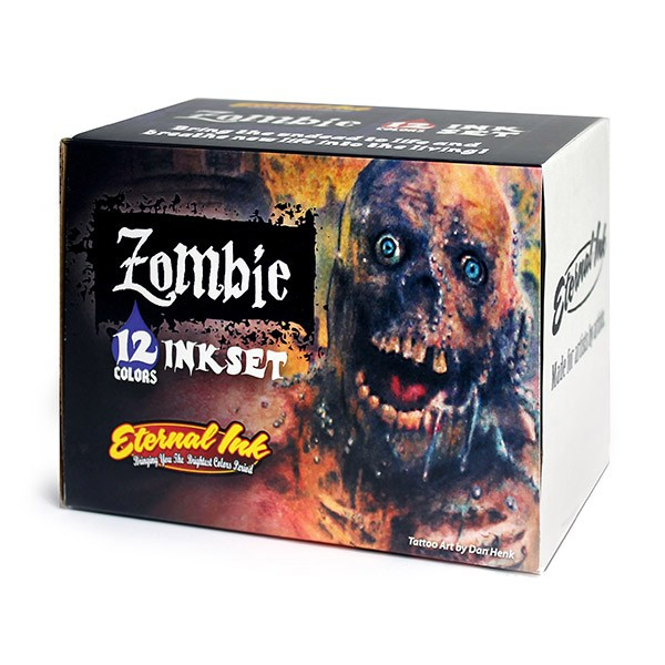 Eternal Ink Zombie Color Set 12 x 30 ml