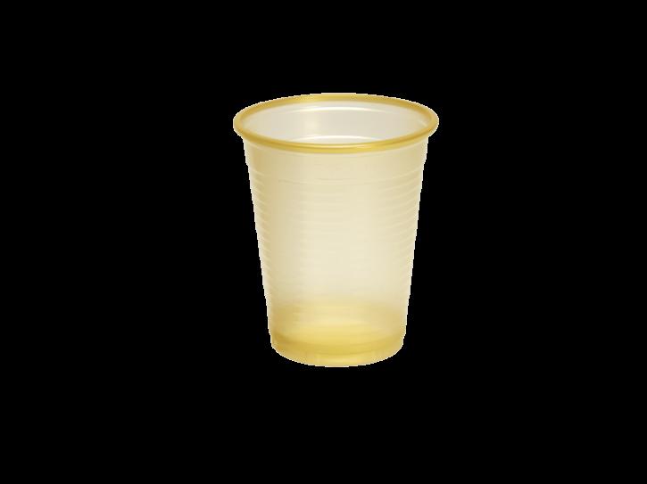 Plastikbecher PP 0.18 L gold