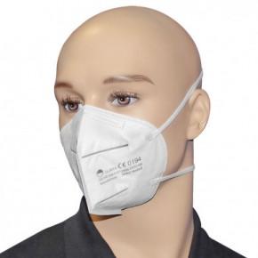 Atemschutzmaske FFP2 NR weiß, 3-lagig