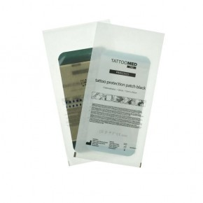 TATTOOMED tattoo protection patch black 2er Pack